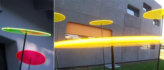 Cazador del sol garten merryweather dekoration plexiglas for Gartendeko licht